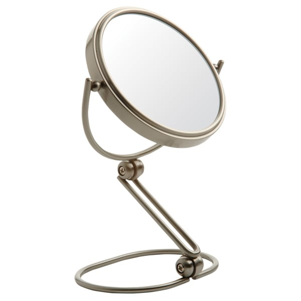 Shop Jerdon 5 5 Inch 10x Magnifying Folding Travel Mirror