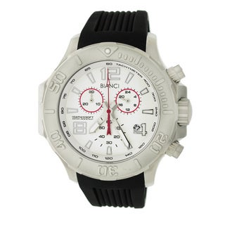 Roberto Bianci Men's Sports All-steel White Dial Chronograph Watch