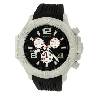 Roberto Bianci Men's Sports All-steel Black Dial Chronograph Watch