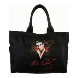 Women's Elvis Presley Signature Product Elvis Presley Tote Bag EV882 Black