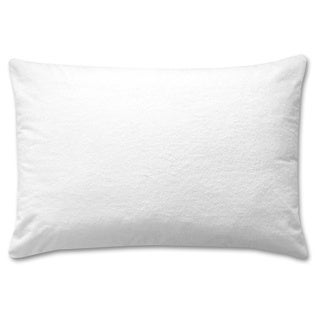 Cotton Rich Terry Top Waterproof Pillow Protectors (Set of 2)
