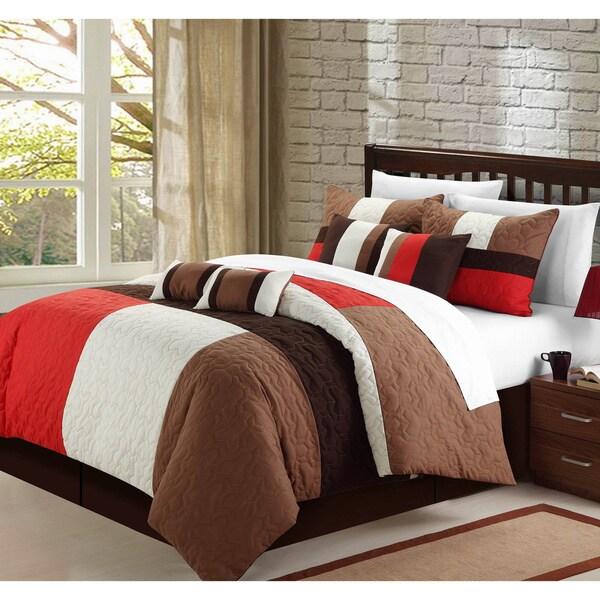Zinfandel 8-piece Comforter Set