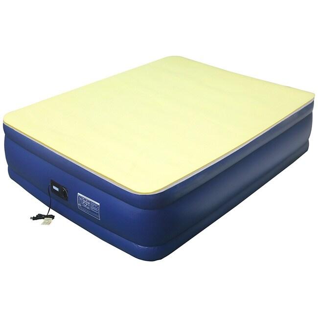 High Density 1-inch Memory Foam Airbed Mattress Topper (T...