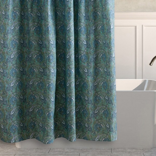 Shop Laura Ashley Brentford Cotton Shower Curtain - Free Shipping On ...