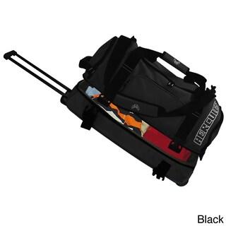 Hercules Heavy Duty 30-inch Rolling Upright Duffel Bag (Option: Black)