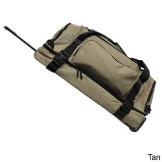 Hercules Heavy Duty 30-inch Rolling Upright Duffel Bag (Option: Tan)