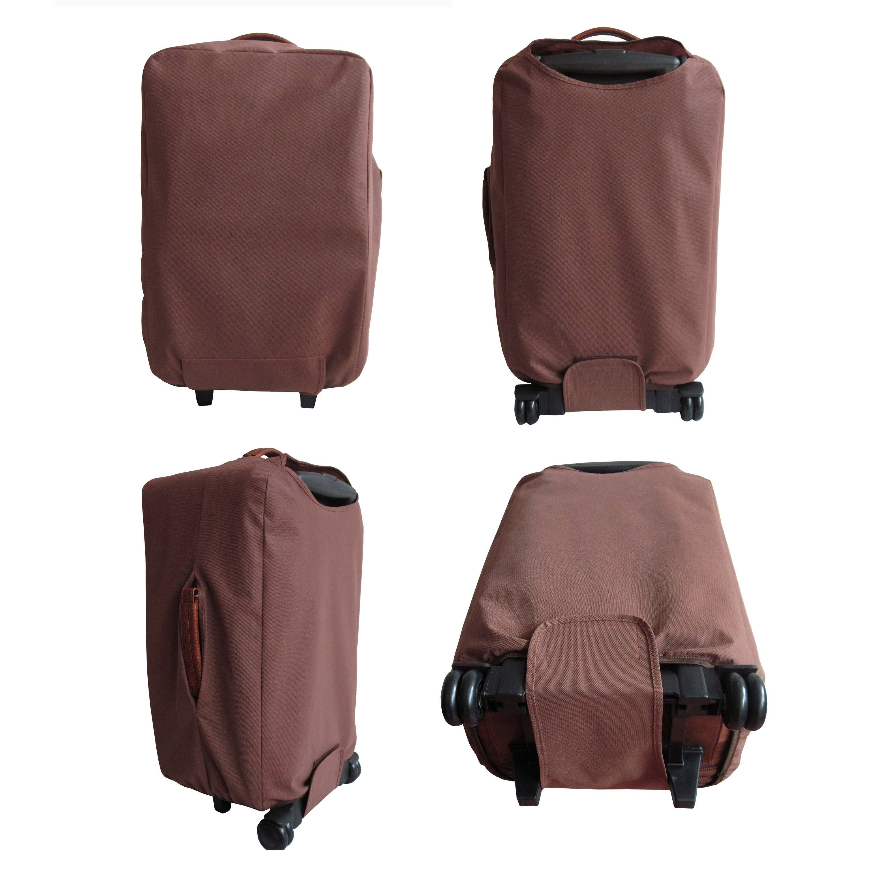 Rozanne Leather 22 Expandable Carry On Pullman
