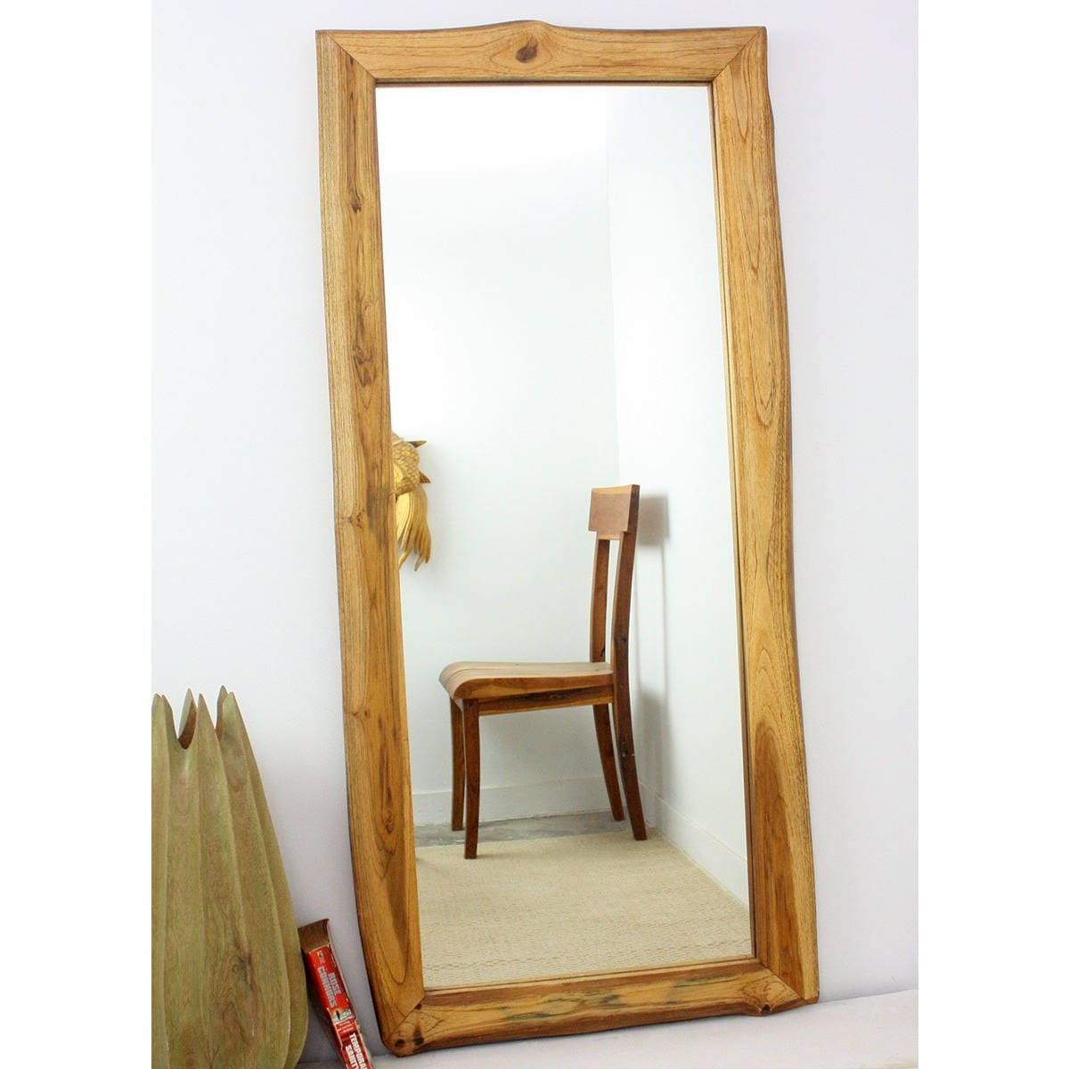 Wood Full Length Mirror Cheaper Than Retail Price Buy Clothing Accessories And Lifestyle Products For Women Men