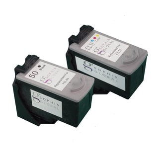Sophia Global Remanufactured Ink Cartridge Replacement for Canon PG-50 and CL-51 (Pack of 2)