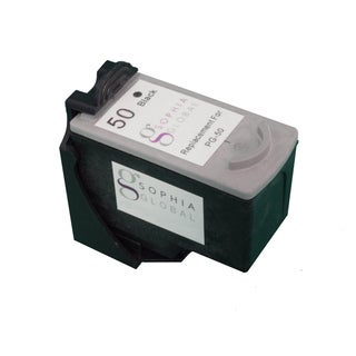Sophia Global Remanufactured Black Ink Cartridge Replacement for Canon PG-50