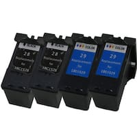 Sophia Global Lexmark 28 and Lexmark 29 4-piece Remanufactured Ink Cartridge Replacement Set