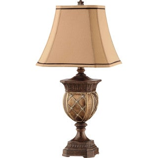 Kirana 1 Light Gold/ Bronze Table Lamp