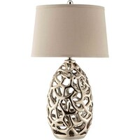 Shop nova lighting birds nest heart table lamp on sale free ripley 1 light metal table lamp aloadofball Gallery