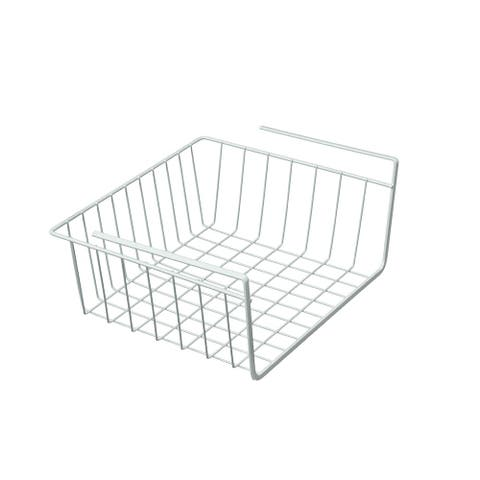 Organized Living Small White Under-cabinet Basket