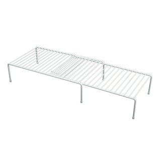 Organized Living White Adjustable Storage Shelf