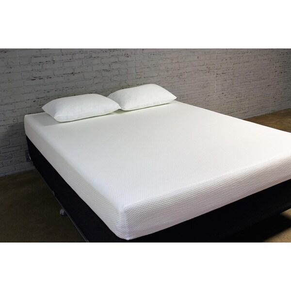 Icon Sleep by Sommette Tencel 8 inch Queen size Gel Memory Foam