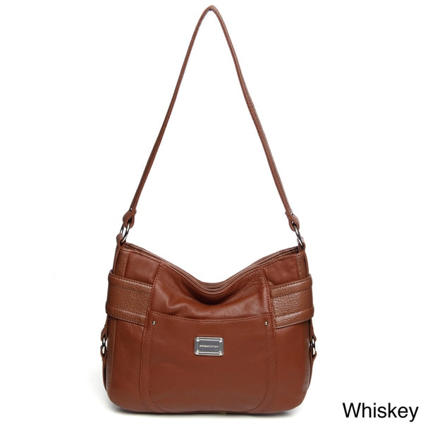 Shop Stone Mountain Greenwich Leather Hobo Bag - Free Shipping Today ... 2894d8ad306d0