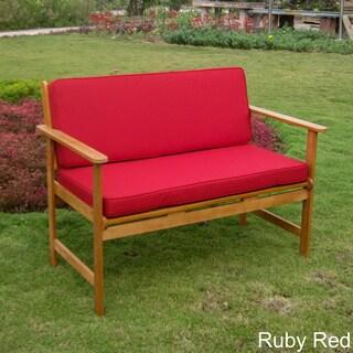 International Caravan Royal Tahiti Patio Bench with Cushions
