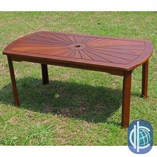 Shop Panama Jack St Barths Coffee Table With Umbrella Hole