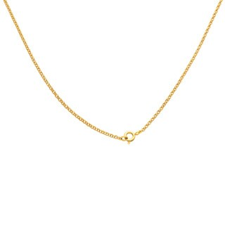 Dolce Giavonna 14k Gold Overlay Simulated Emerald or Simulated Ruby Necklace