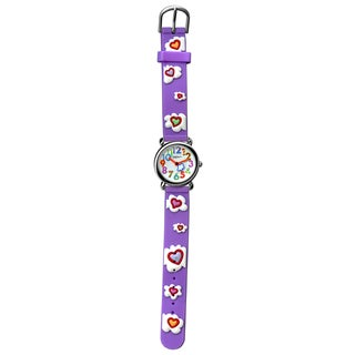 Fusion Kids' 'Cloud' Purple Strap Watch