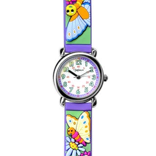 Fusion Kids' Butterfly Multi-color Watch|https://ak1.ostkcdn.com/images/products/8814549/Fusion-Kids-Butterfly-Multi-color-Watch-P16049097.jpg?impolicy=medium