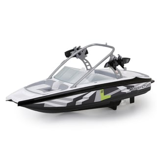 New Bright Mastercraft RC FF Black Boat