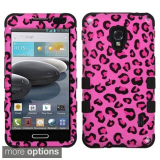 INSTEN TUFF Hybrid Phone Case Cover for LG Optimus F6 D500/ MS500