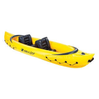 Sevylor Tahiti Yellow Inflatable Kayak