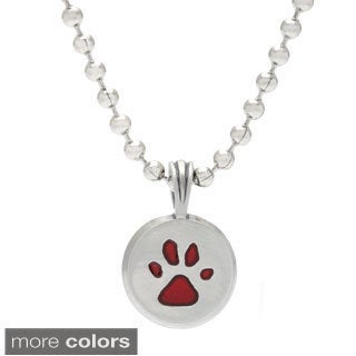 Bico Australia Paw Resin Pendant Necklace