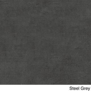 Blazing Needles Microsuede Tufted 48-inch Swivel Rocker Cushion