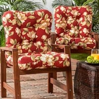 Greendale Home Fashions Outdoor Seat/Back Chair Cushion (Set of 2) - 21w x 42l
