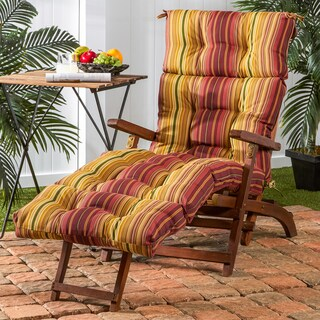 Greendale Home Fashions Outdoor Chaise Lounge Cushion - 22 w x 72 l