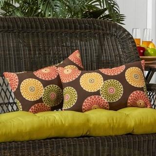 19x12-inch Rectangular Contemporary Outdoor Accent Pillows