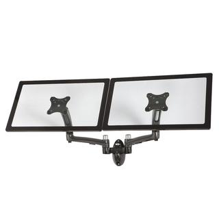 Cotytech Dark Grey Dual Wall Mount Spring Arm