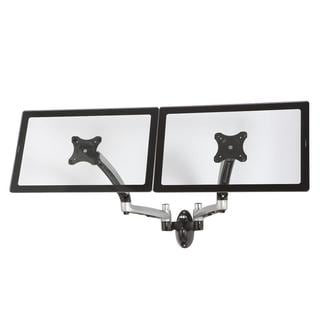Cotytech Silver Dual Wall Mount Spring Arm