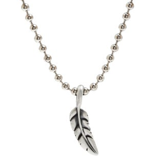 Bico Australia Light Feather Pendant Necklace
