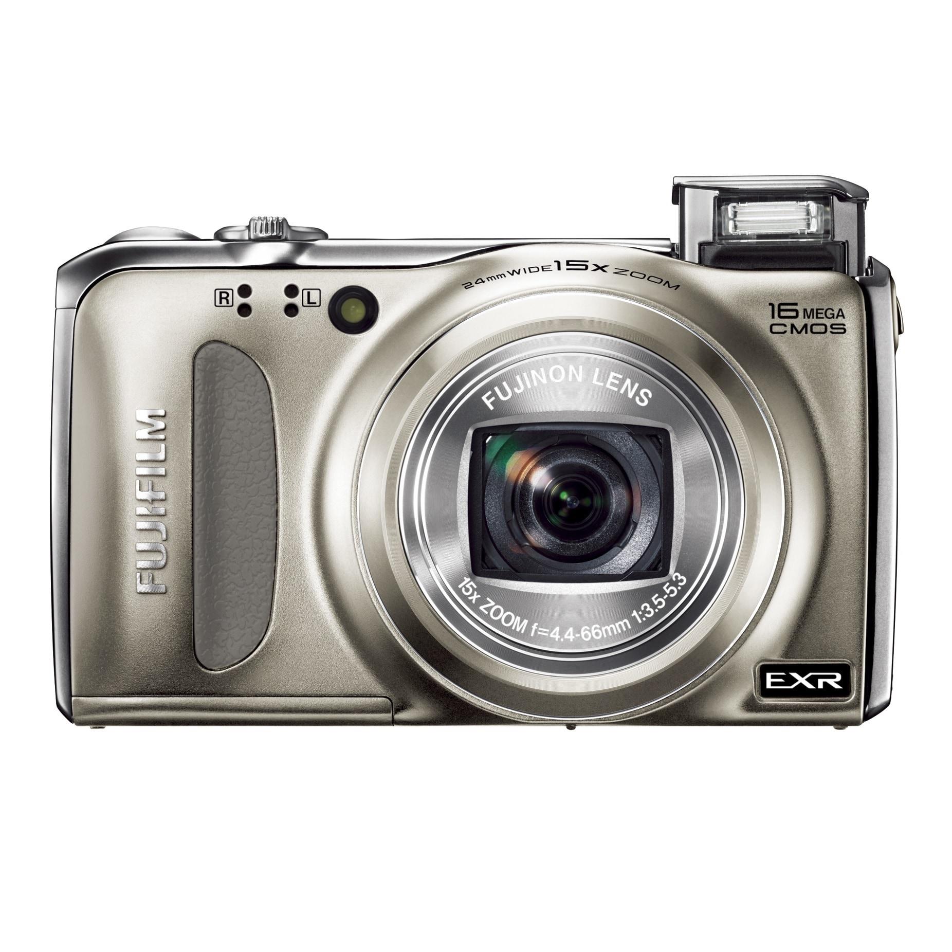 Fuji F500EXR 16MP Gold Digital Camera (Fujifilm FinePix F...