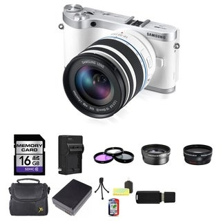 Samsung NX300 Mirrorless Camera 18-55mm f3.5-5.6 OIS Lens 16GB Bundle