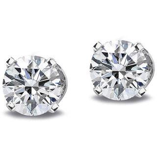 DB Designs 14k Gold 1/5ct TDW Diamond Round Stud Earrings (G-H, I2-I3)