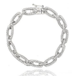 Link to DB Designs 1ct TDW Diamond Chain Link Bracelet Similar Items in Bracelets