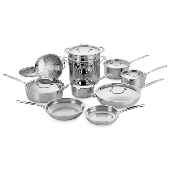 Shop Cuisinart 77 17 Chef S Classic Stainless 17 Piece