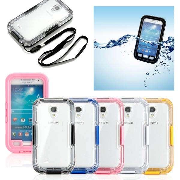Gearonic Waterproof and Shockproof Durable Case for Samsung Galaxy S4