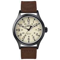reader for watch timex watches leather c men nordstrom easy strap mens brown