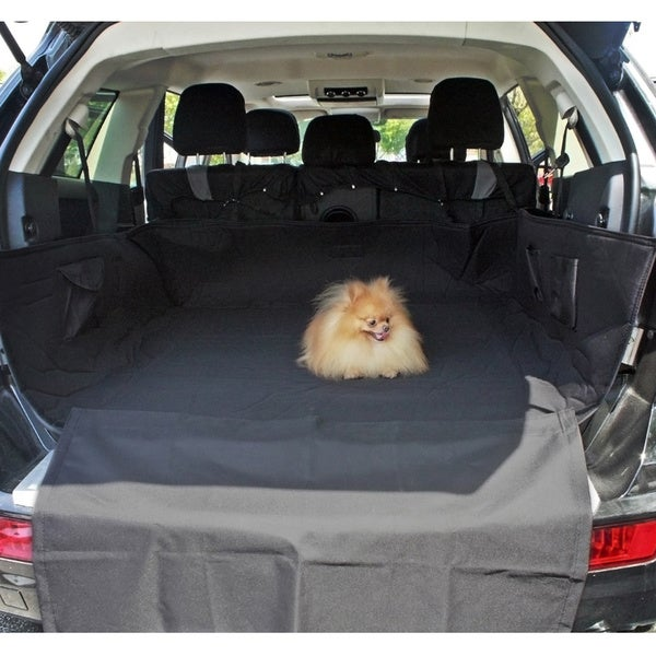 Pet Booster Seat >> Shop Oxgord Cat/Dog Comfort Travel Cargo Trunk Liner with ...