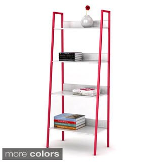 urb SPACE 4-tier Metal Angled Ladder Shelving|https://ak1.ostkcdn.com/images/products/8815284/4-tier-Metal-Angled-Ladder-Shelving-P16049676.jpg?_ostk_perf_=percv&impolicy=medium