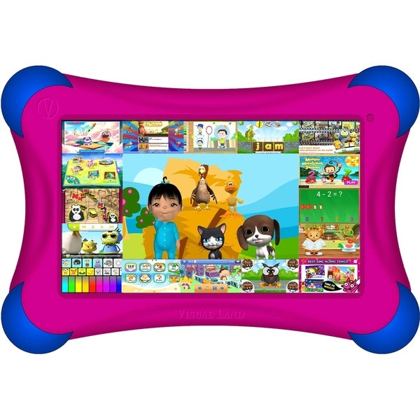 "Visual Land Prestige FamTab Tablet - 7"" - 1 GB DDR3 SDRAM - ARM Corte"