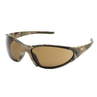BTB Sport Optics Woodland Camo HD Brown Lens Sunglasses