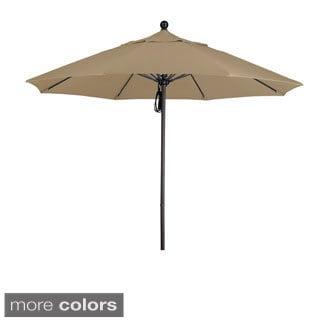 Lauren & Company Commercial Grade 9.5-foot Aluminum Umbrella with Sunbrella Fabric