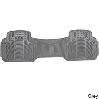 Oxgord Ridged Style Rugged Rubber 1-piece Car Floor Mat